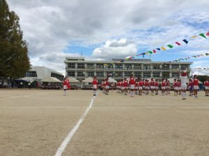 三宅町小学校運動会