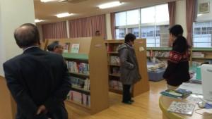 三宅町学校図書室