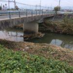 橋げたに貯まるゴミ