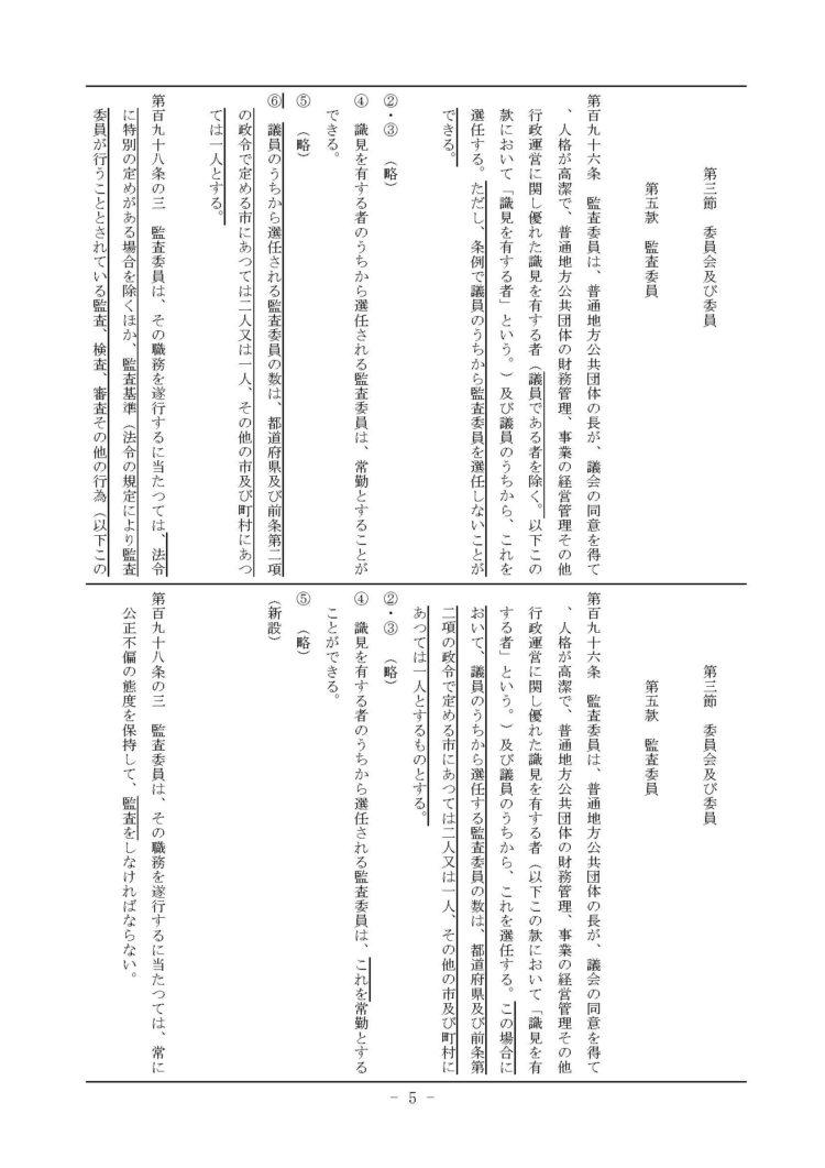 平成29年6月9日地方自治法改正